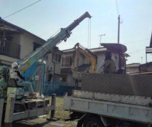 北本荘Ⅱの家、基礎工事
